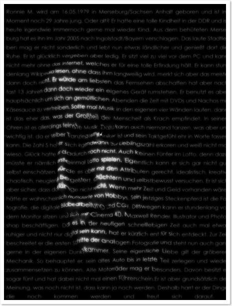Textportrait